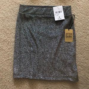 Silver Sparkle Skirt